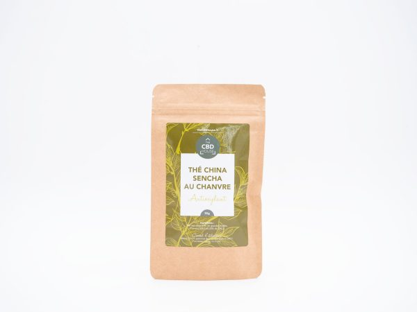 thé chine sencha au chanvre