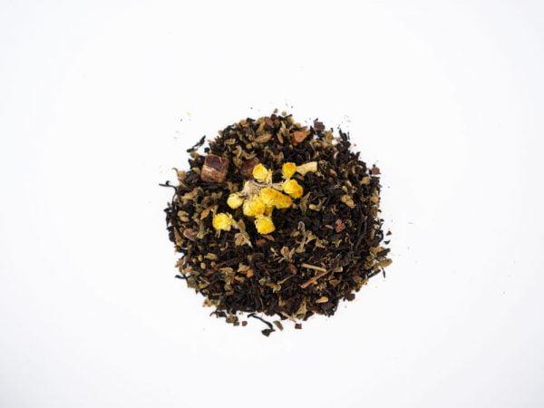 thé noir assam chanvre